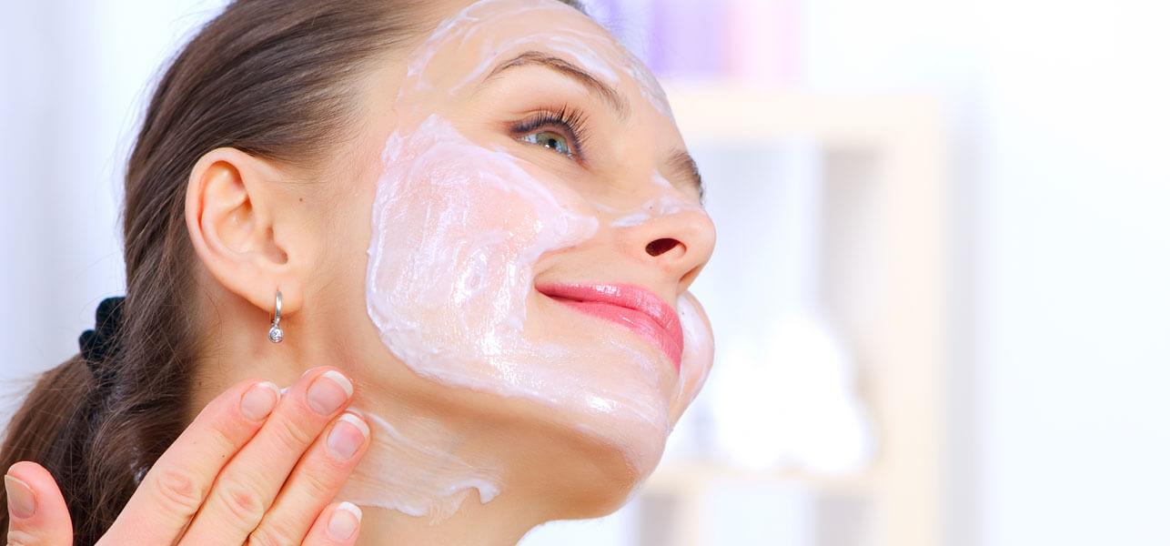 крахмальные маски для лица