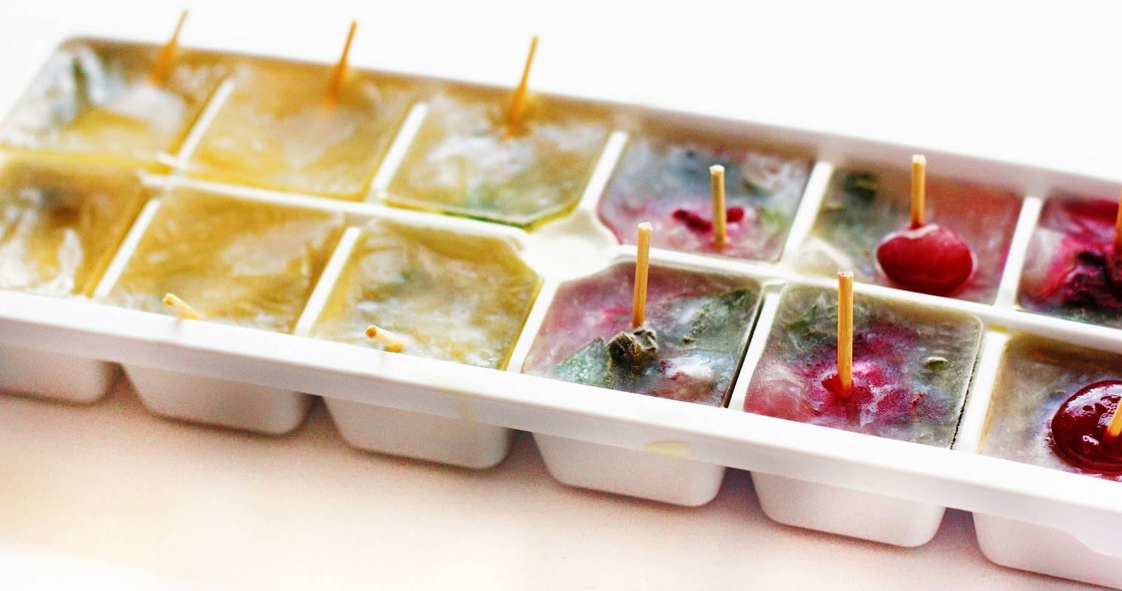 Лед для лица от морщин: рецепты кубиков для протирания